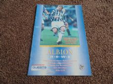 West Bromwich Albion v Bolton Wanderers, 1994/95